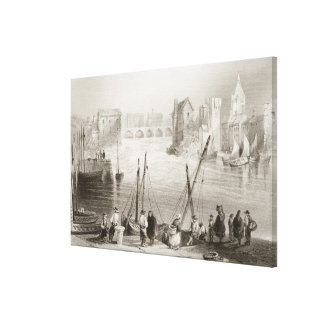 View of Galway from the Claddagh Canvas Print