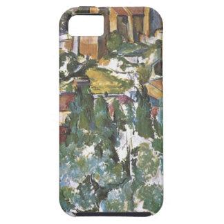 View of Gardanne by Paul Cezanne iPhone SE/5/5s Case