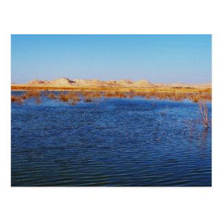 View of Gebel al-Dakrur Siwa Oasis in Egypt Postcard