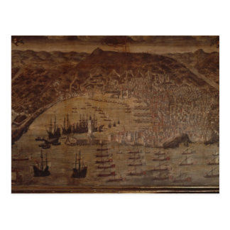 View of Genoa Postcard