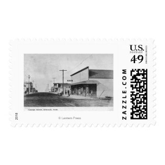 View of George Street Postage Stamp