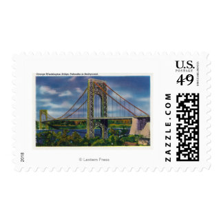 View of George Washington Bridge Postage Stamps