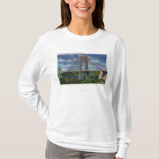 View of George Washington Bridge T-Shirt