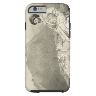 View of Ghimri and Portrait of Hadji-Mourad, plate Tough iPhone 6 Case
