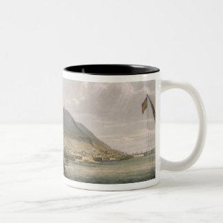 View of Gibraltar, engraved by Thomas Sutherland f Coffee Mug