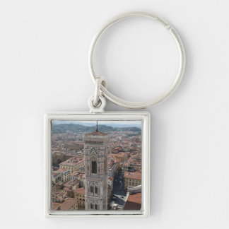 View of Giotto's Bell Tower (Campanile di Keychain