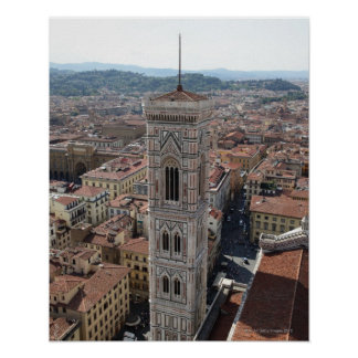 View of Giotto's Bell Tower (Campanile di Print