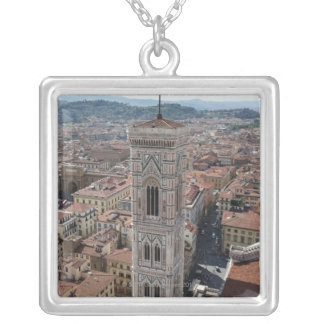 View of Giotto's Bell Tower (Campanile di Silver Plated Necklace
