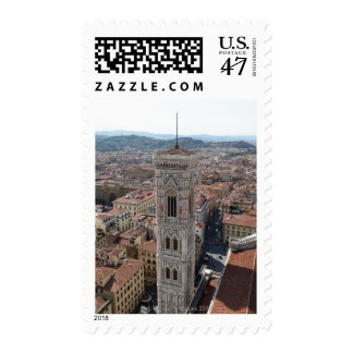 View of Giotto's Bell Tower (Campanile di Stamp