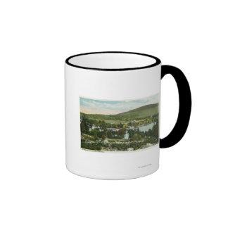 View of Glendale Ringer Coffee Mug
