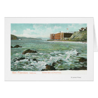 View of Golden Gate and Fort Point Card