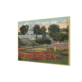 View of Golden Gate Park & Conservatory Canvas Print