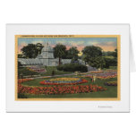 View of Golden Gate Park & Conservatory Greeting Cards