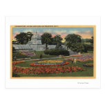 View of Golden Gate Park & Conservatory Postcard