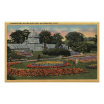 View of Golden Gate Park & Conservatory Print