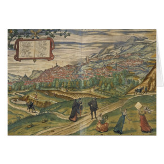 View of Granada Greeting Card