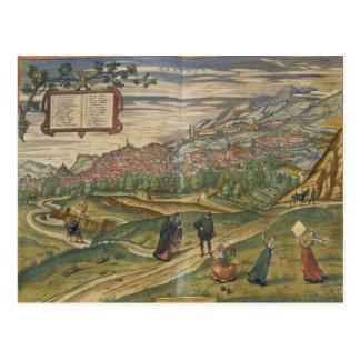 View of Granada Postcard