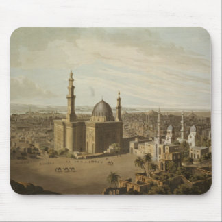 View of Grand Cairo, engraved by Daniel Havell (17 Mouse Pad