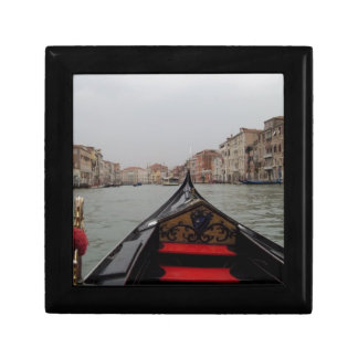 View Of Grand Canal From A Gondola Jewelry Box