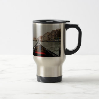 View Of Grand Canal From A Gondola Travel Mug