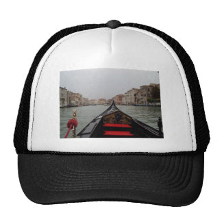 View Of Grand Canal From A Gondola Trucker Hat