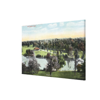 View of Green Hill Park Canvas Prints
