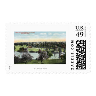 View of Green Hill Park Postage