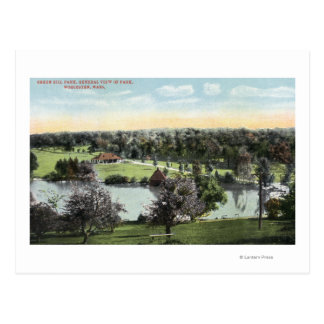 View of Green Hill Park Postcard