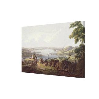 View of Greenock, Scotland Canvas Print