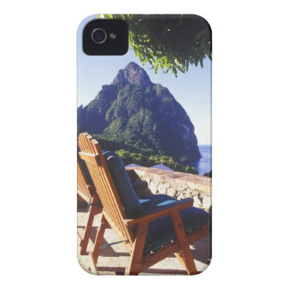 View of Gros Piton from Stonefield Estate Villa Case-Mate iPhone 4 Case