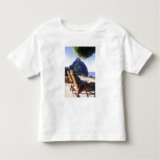 View of Gros Piton from Stonefield Estate Villa Tee Shirts