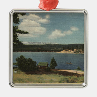View of Grout Bay from Dana Point Metal Ornament