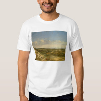View of Haarlem from the Dunes (oil on canvas) T Shirt