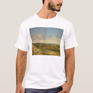 View of Haarlem from the Dunes (oil on canvas) T-Shirt