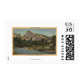 View of Half Dome from Valley Floor Postage