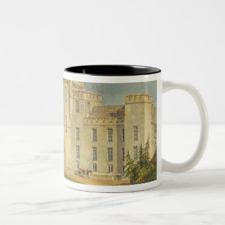 View of Hampton Court from the North-west, c.1806 Two-Tone Coffee Mug