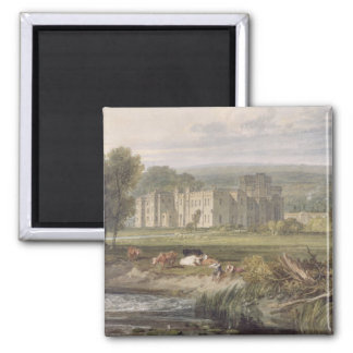 View of Hampton Court, Herefordshire, from the sou Magnet