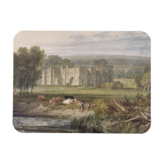 View of Hampton Court, Herefordshire, from the sou Rectangular Photo Magnet