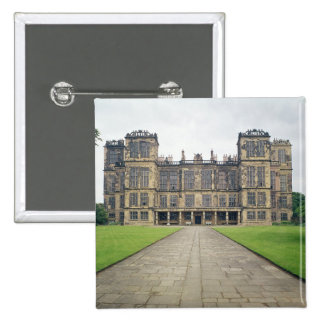 View of Hardwick Hall Pinback Button