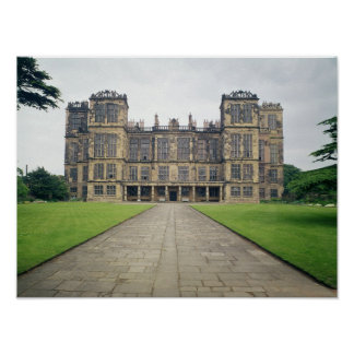 View of Hardwick Hall Poster
