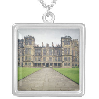 View of Hardwick Hall Silver Plated Necklace