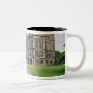 View of Hardwick Hall Two-Tone Coffee Mug