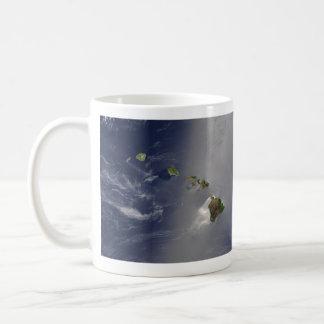 View of Hawaii from Space Coffee Mug