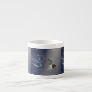 View of Hawaii from Space Espresso Cup