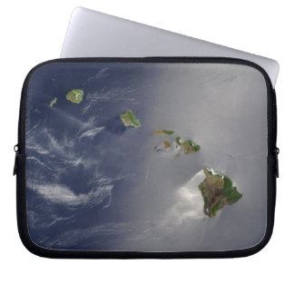 View of Hawaii from Space Laptop Sleeve