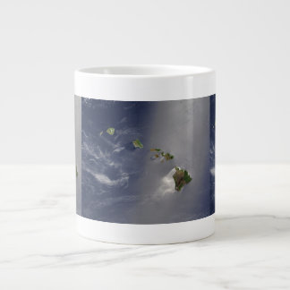 View of Hawaii from Space Large Coffee Mug