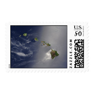 View of Hawaii from Space Postage