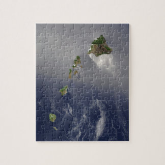 View of Hawaii from Space Puzzle