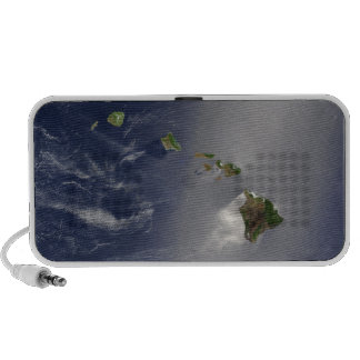 View of Hawaii from Space Mp3 Speakers