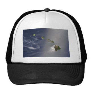 View of Hawaii from Space Trucker Hat